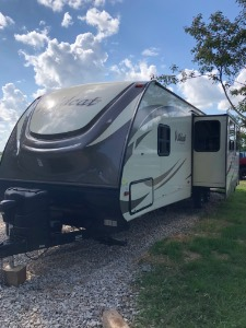 2017 Forest river wildcat t322tbi