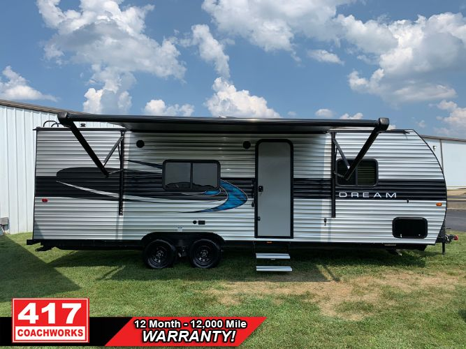 2018 RIVERSIDE DREAM 259RB TRAVEL TRAILER CAMPER RV