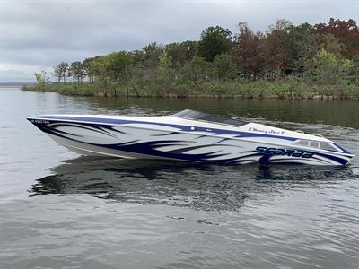 1995 WELLCRAFT SCARAB POWER BOAT