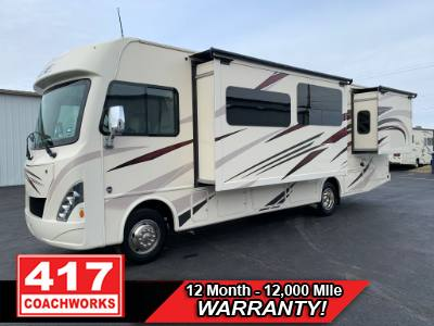 2017 THOR INDUSTRIES ACE 30.3 30FT CLASS A MOTOR HOME RV CAMPER FORD V10 2 SLIDE