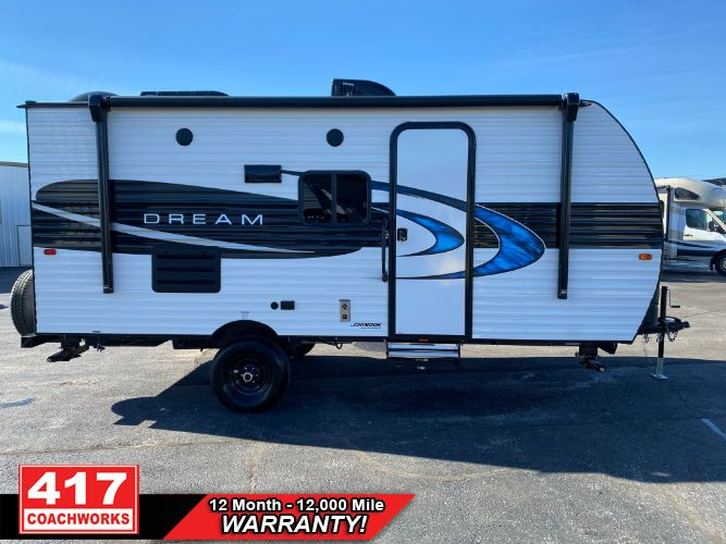 2021 CHINOOK DREAM 175BH 21FT TRAVEL TRAILER  3740LBS BUNKS SLEEP 6