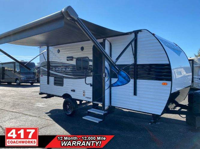 2021 CHINOOK DREAM 178QB 21FT TRAVEL TRAILER LARGE REAR BATH HALF TON TOW