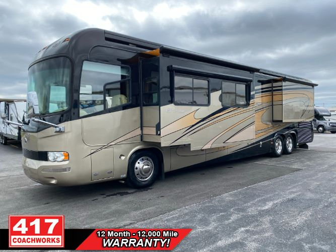 2009 MONACO EXECUTIVE SIERRA IV 650HP CUMMINS 4 SLIDE CLASS A MOTOR HOME RV CAMPER 650HP CUMMINS