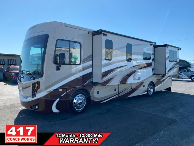 2016 FLEETWOOD EXCURSION 33D 2 SLIDE CLASS A DIESEL PUSHER MOTOR HOME RV CAMPER