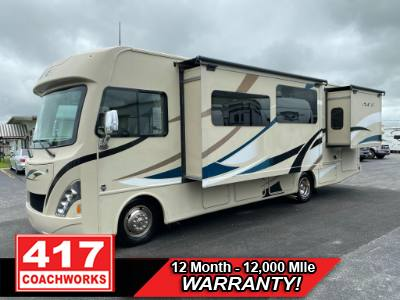2018 THOR INDUSTRIES ACE 30.3 30FT CLASS A MOTOR HOME RV CAMPER FORD V10 2 SLIDE