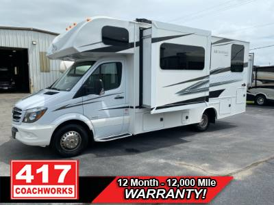 2015 JAYCO MELBOURNE 24K CLASS C MOTOR HOME MERCEDES SPRINTER 3500 CHASSIS