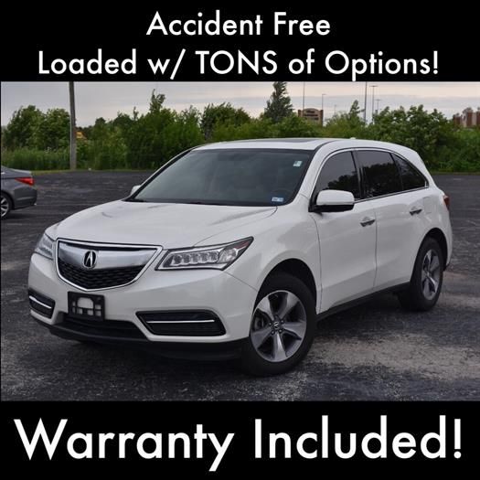 2014 Acura MDX SH-AWD w/ Technology & Advanced Packages