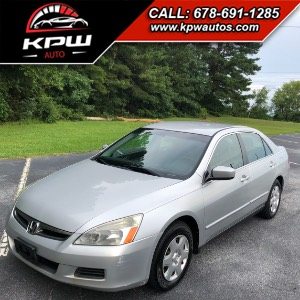 2007 Honda Accord Sdn LX