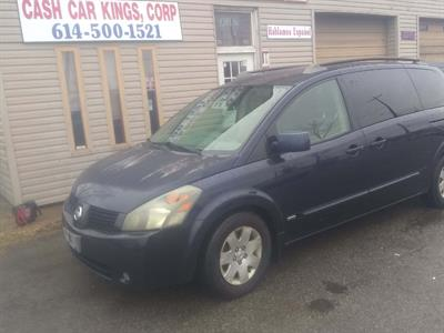 2006 mechanic special engine runs rough Nissan  Quest S Special Edition