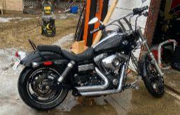 2014 Harley Davidson Dyna Wide Glide Cruiser Bike