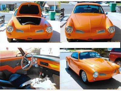 1969 Volkswagen Karmann-Ghia Coupe