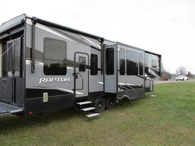 2021 Keystone Raptor 5TH Wheel Toy Hauler