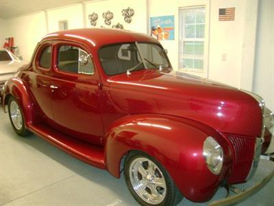 1940 Ford Deluxe Show Car Coupe