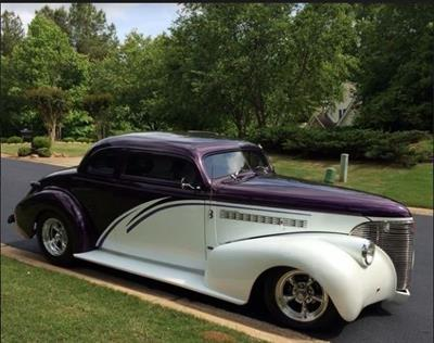 1939 Chevrolet Roadster Coupe Show Car