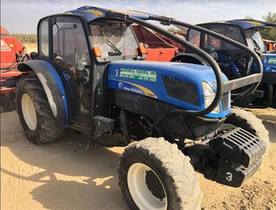2013 New Holland T4060F 4X4 Tractor W/Fruit Cab