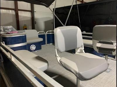2018 Paddle King Pontoon Fishing Boat