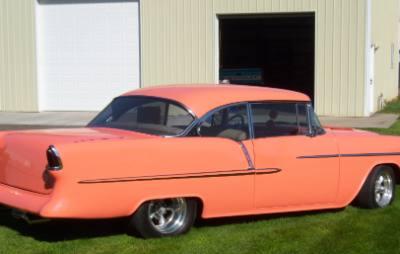 1955 Chevy Bel Air 2- Door Hardtop Custom