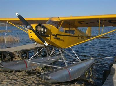 xxxx Piper J-3 Cub Float Plane