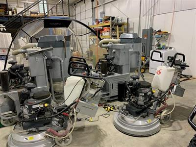 2018 Lavina Propane Grinders and Vacuums