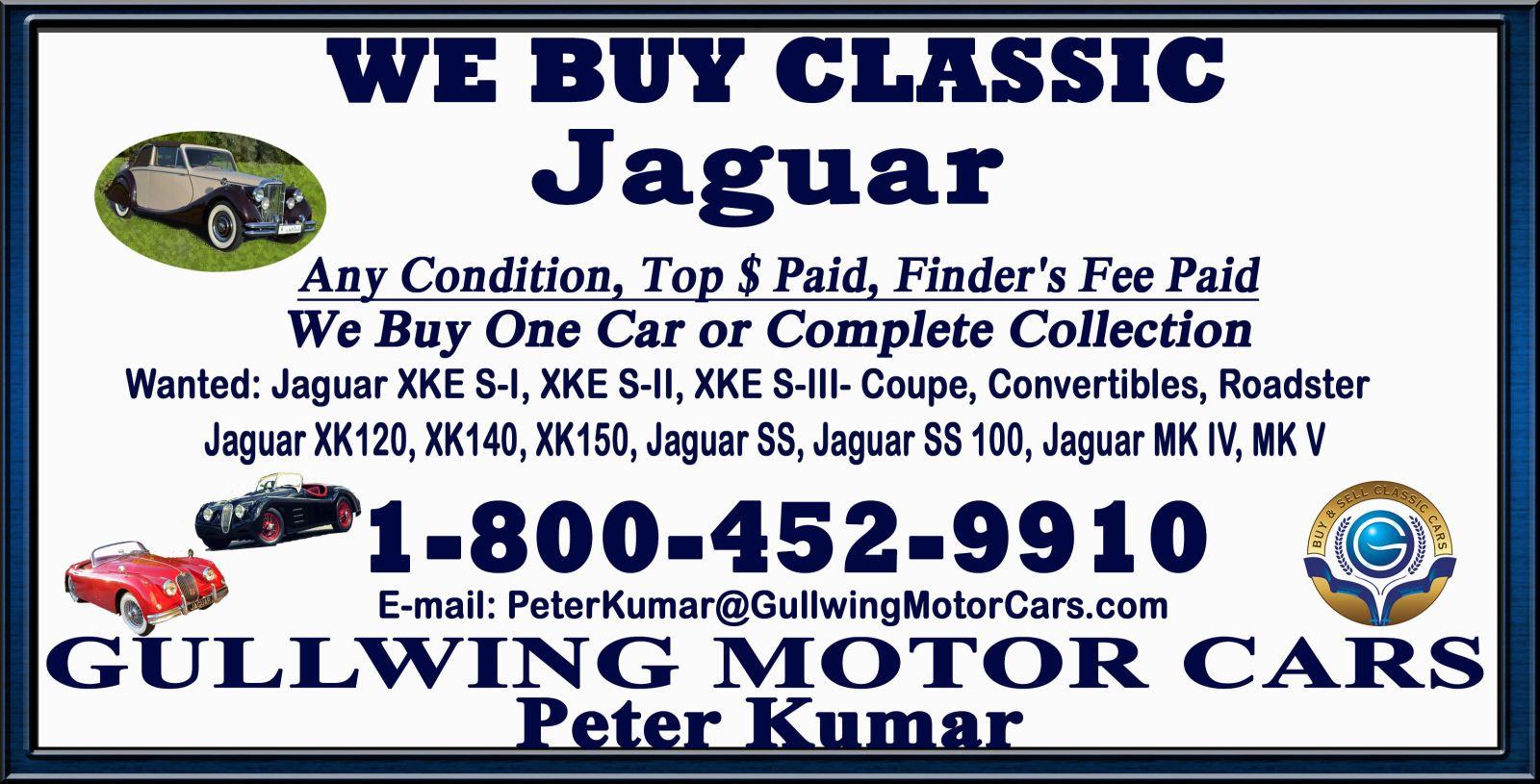 Classic Jaguar | Vintage Jaguar | Classic Jaguar For Sale | Selling Classic Jaguar